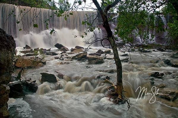 Cowley Falls Deluge