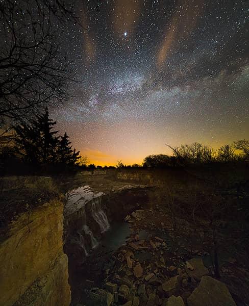 Cowley Falls Milky Way