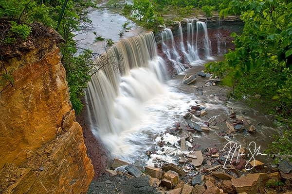 Kansas Waterfalls Photo Gallery