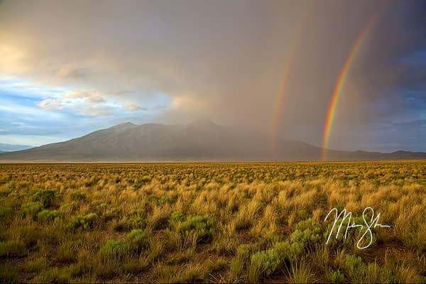 Double Rainbow Over Blanca Peak