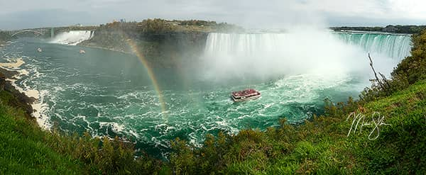Double Rainbow over Niagara Falls