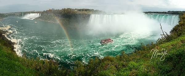 Double Rainbow over Niagara Falls