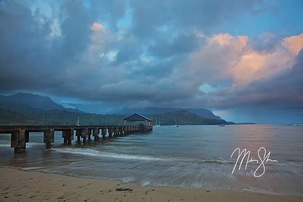 Early Morning at the Hanalei Bay Pier
