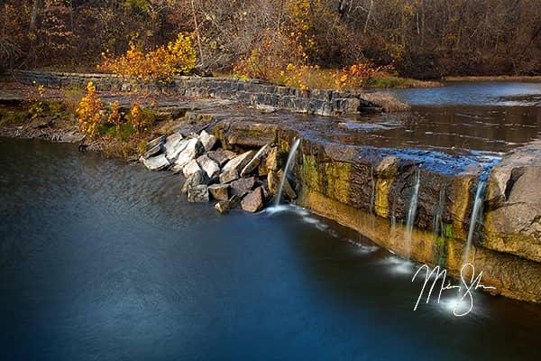 Elk Falls Autumn Colors