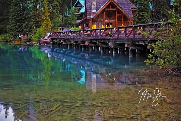 Canada Photo Galleries - Featured: Emerald Lake Calm, Yoho National Park, Canada