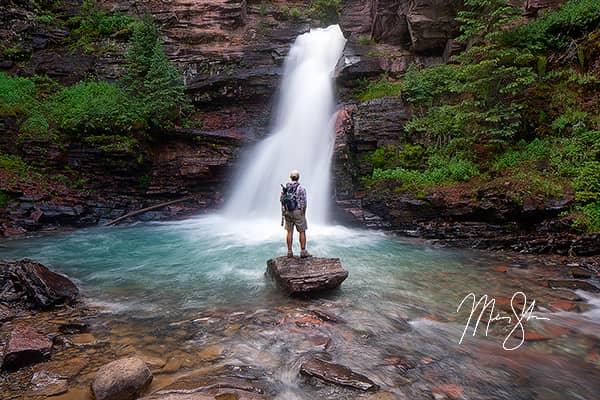 Exploring South Mineral Creek Falls