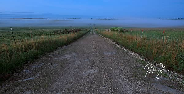 Fog over the Flint Hills