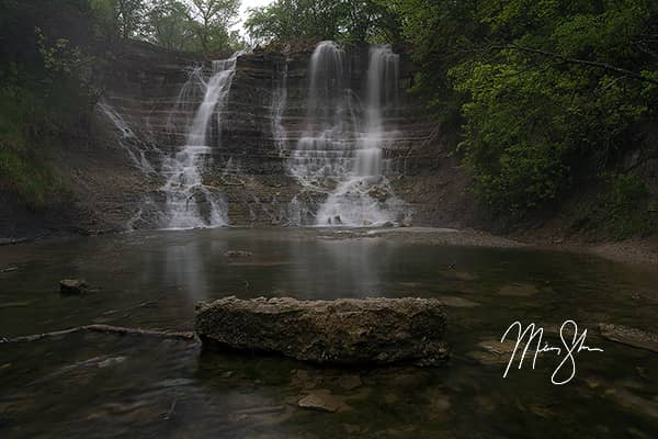 Kansas Waterfalls Photo Gallery