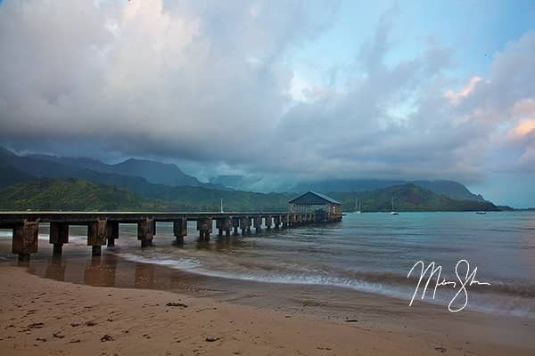 Hanalei Pier Sunrise
