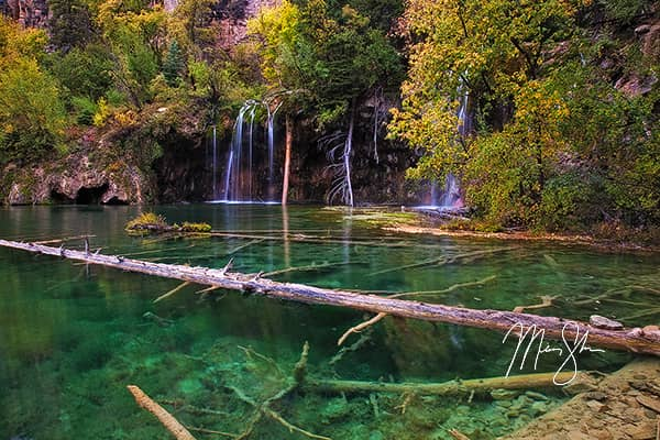 Hanging Lake Autumn Colors