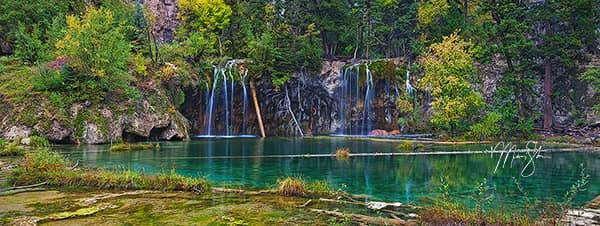 Hanging Lake Autumn Pano