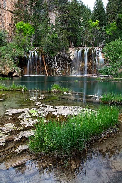 Hanging Lake In The Summer