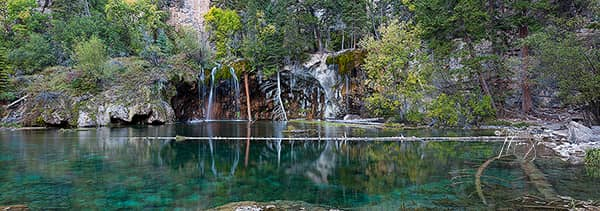 Hanging Lake Panorama