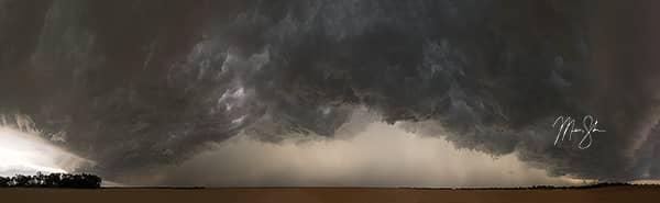 Kansas Storm Clouds Panorama