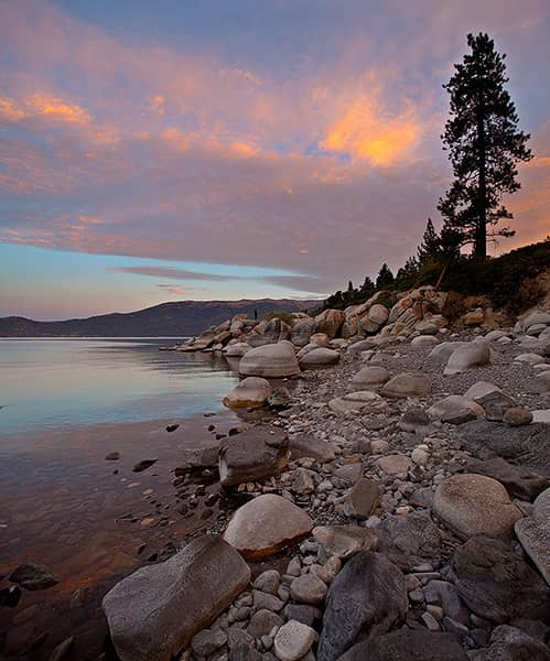 Lake Tahoe Vertical Panorama