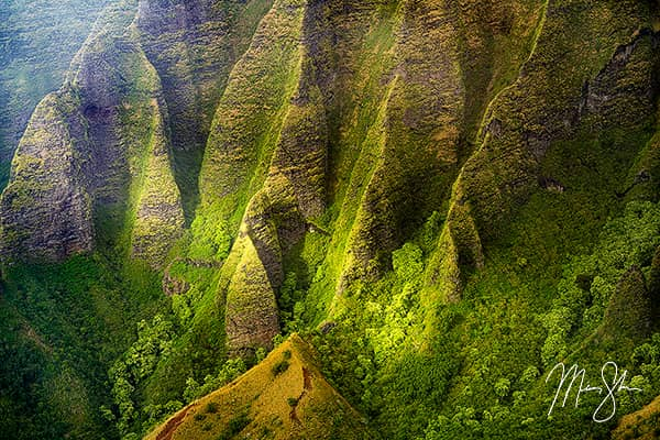 Lights on the Cliffs of the Napali Coast