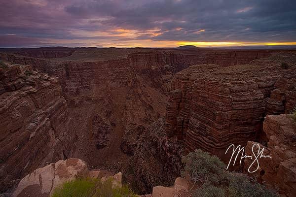 Little Colorado River Canyon Sunrise