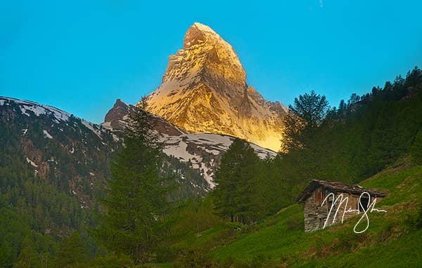 Matterhorn Alpineglow Sunrise