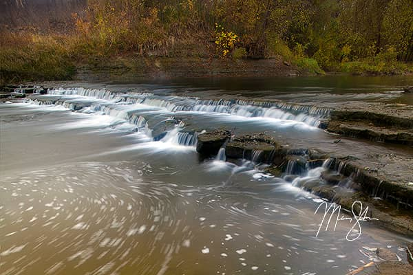 Middle Wolf River Falls