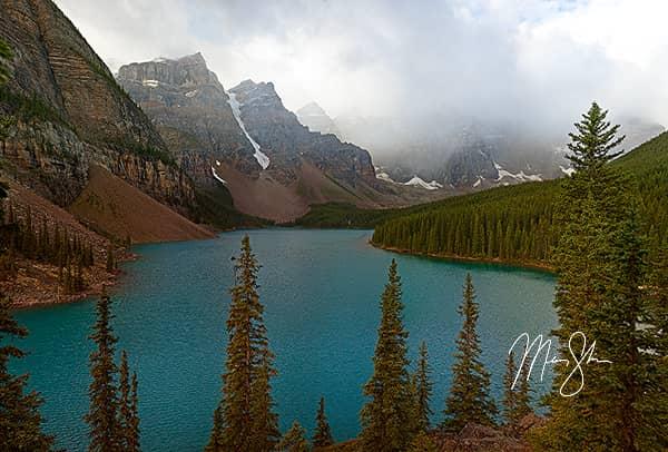 Moraine Lake Clouds