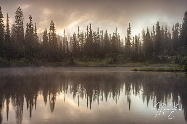 Morning at Reflection Lake