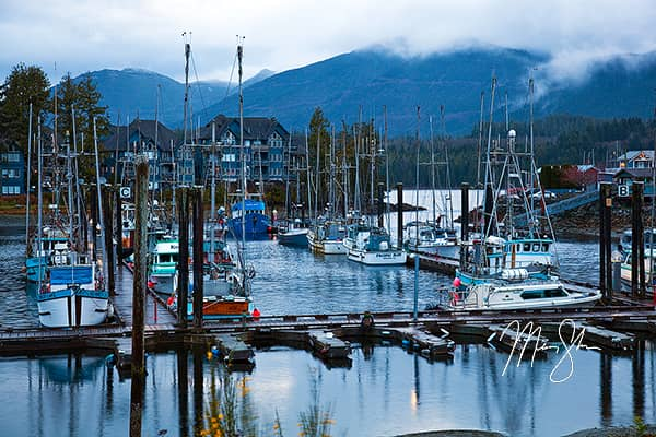 Morning at Ucluelet Harbour