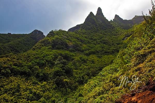 Napali Coast Cliffs
