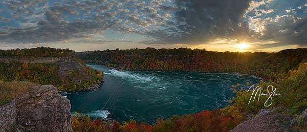 Niagara Whirlpool Sunset