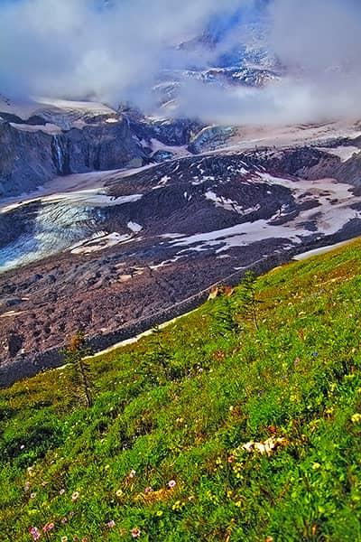 Nisqually Glacier Vertical