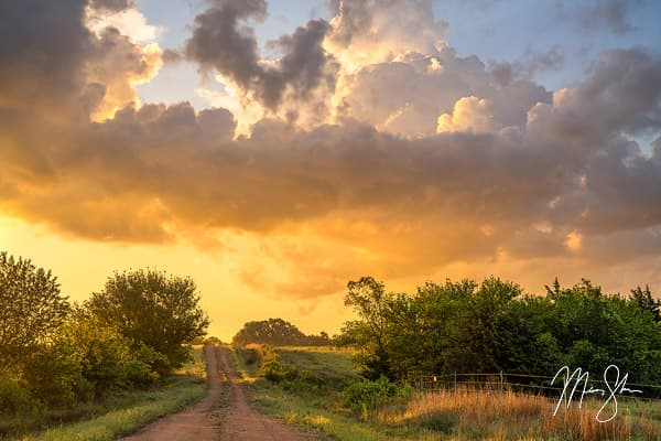 Old Country Road Sunrise