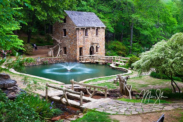 Old Mill Fountain