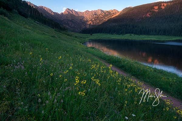 Piney Lake Summer Sunset