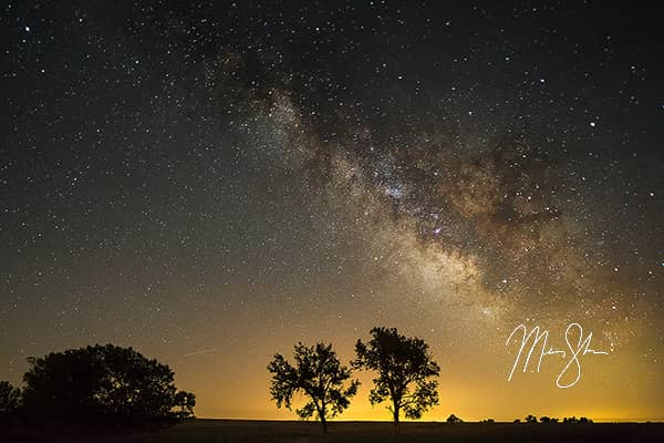 Prairie Trail Milky Way