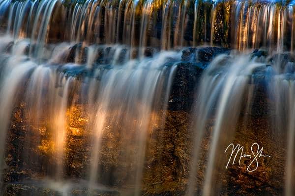 Prather Creek Falls Closeup