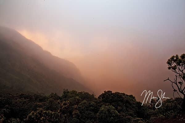 Puu o Kila Lookout Mystical Sunset
