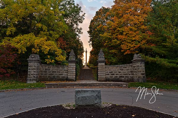 Queenston Heights Park Autumn Sunset