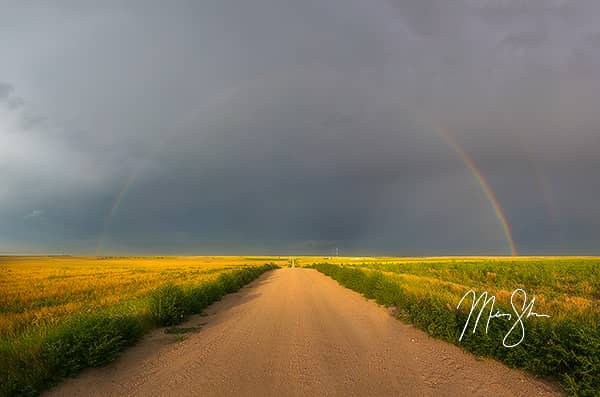 Rainbow over Northwest Kansas