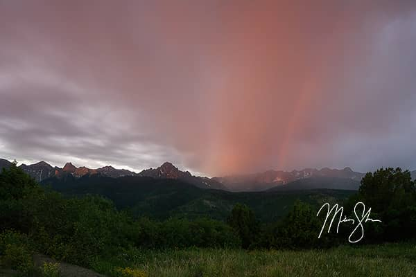 Rainbow Sunrise over Sneffels