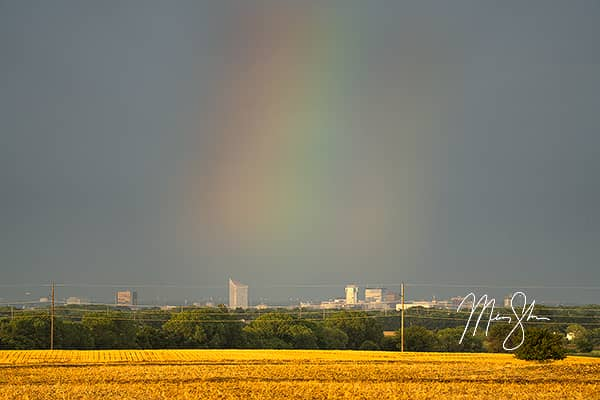 Rainbow Over Wichita