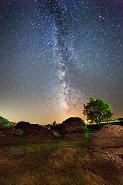 Rock City Milky Way