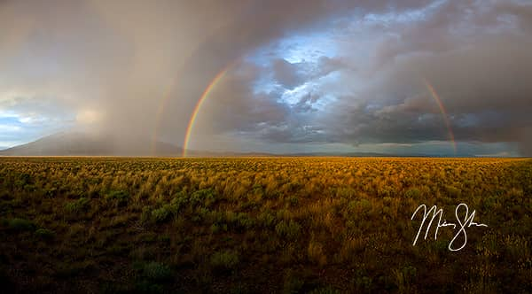 Sangre de Cristos Double Rainbow