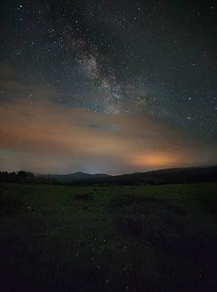 Shrine Pass Milky Way
