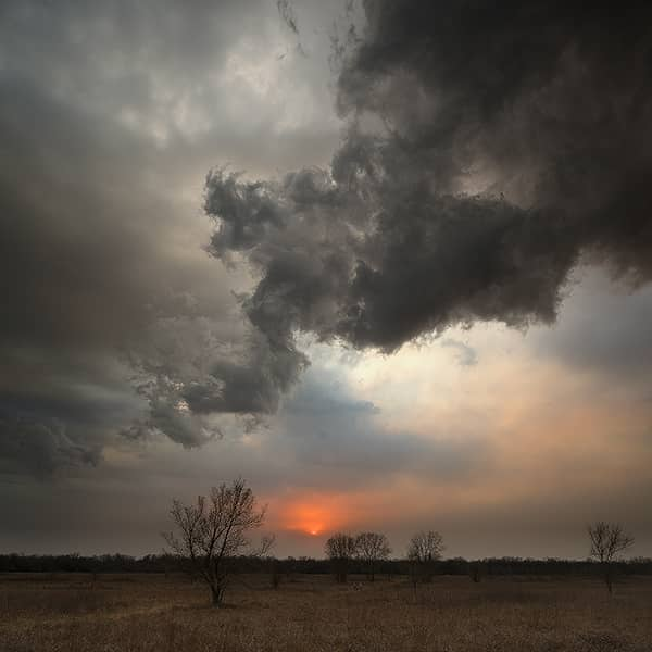 Smoke and Storms in Kansas