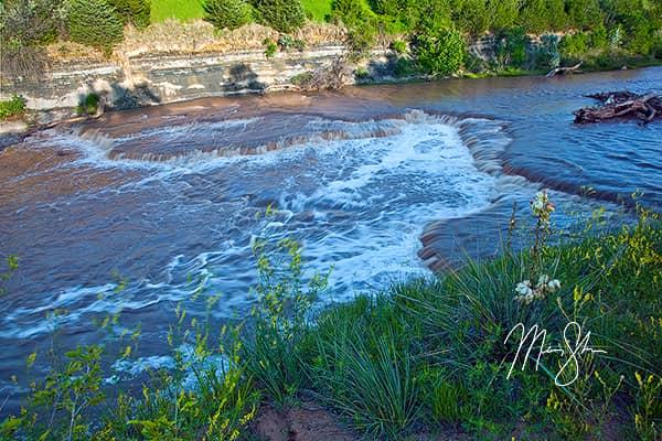 Smoky Hills River Falls