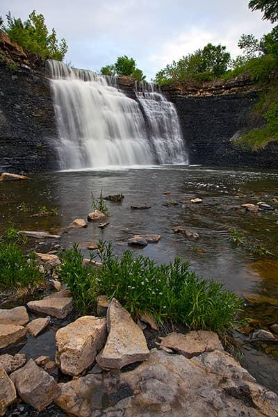 Spring at Bourbon Falls