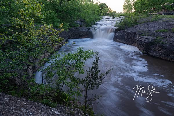 Spring at Butcher Falls