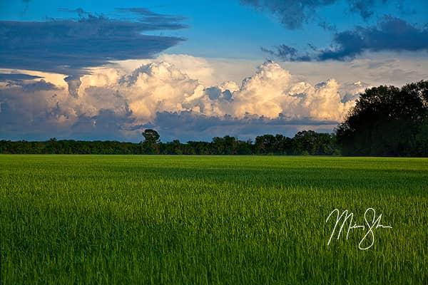 Stormy Kansas Sunset
