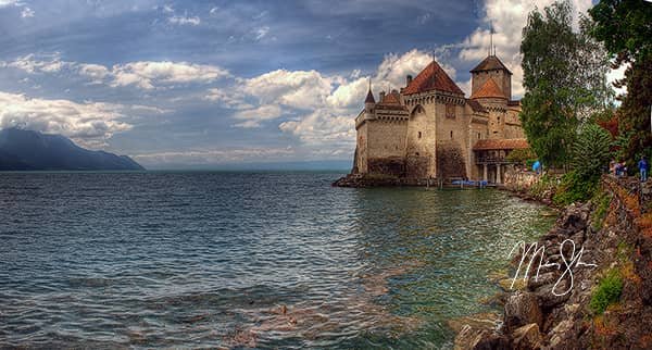 Montreux and the Chateau de Chillon Photo Gallery