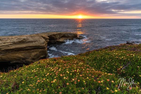 Sunset Cliffs of San Diego