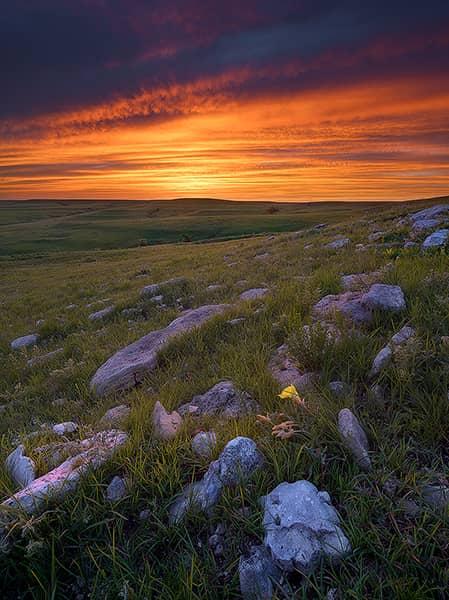 Texaco Hill Sunset